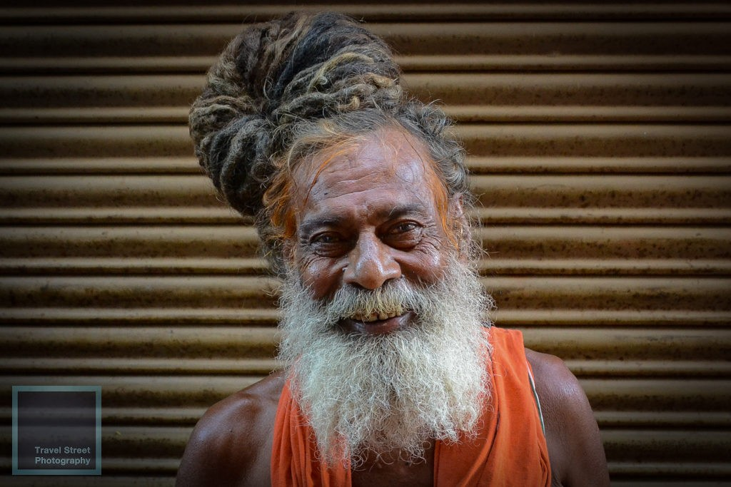 travel street photography sadhu dreadlocks varanasi benares india people portrait
