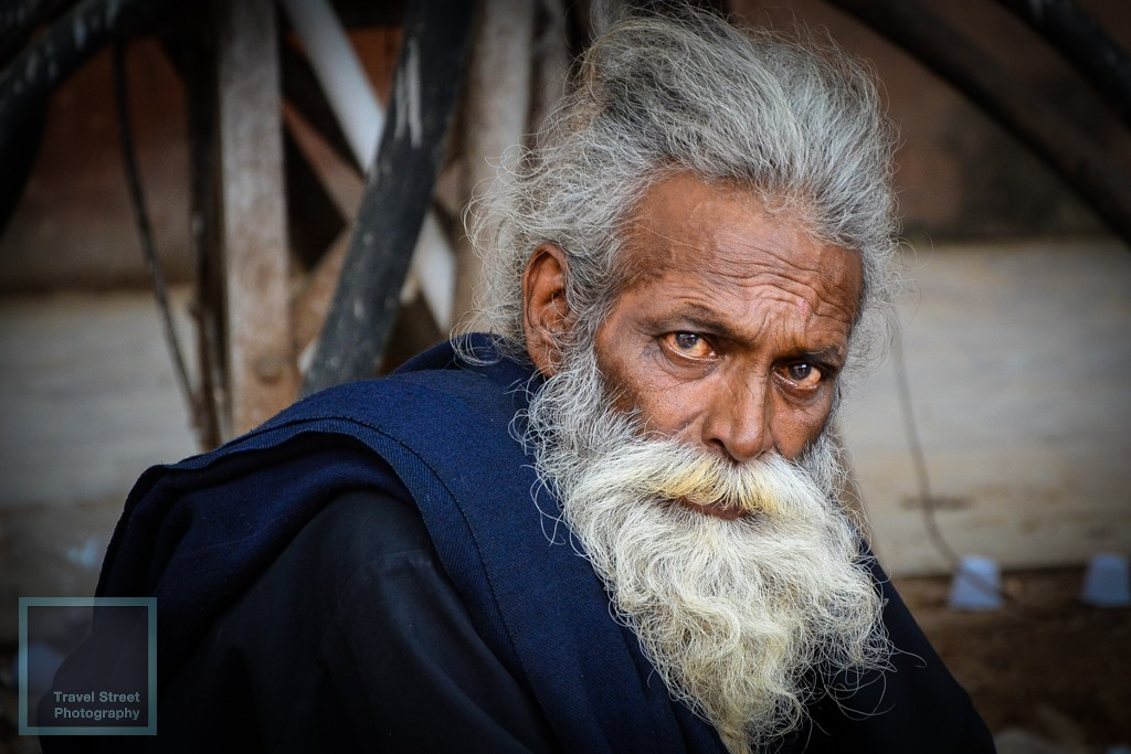 travel street photography white beard jaipur india people portrait