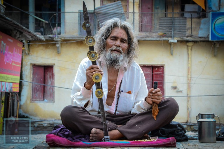 travel street photography hindu holy man udaipur india people