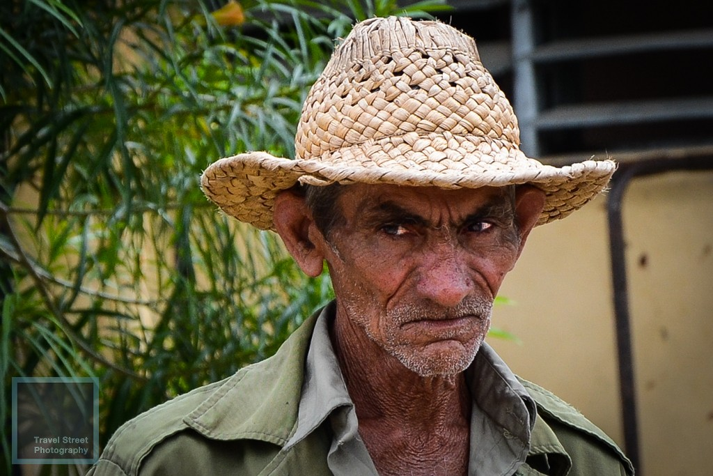 travel street photography cuban farmer trinidad cuba people portrait