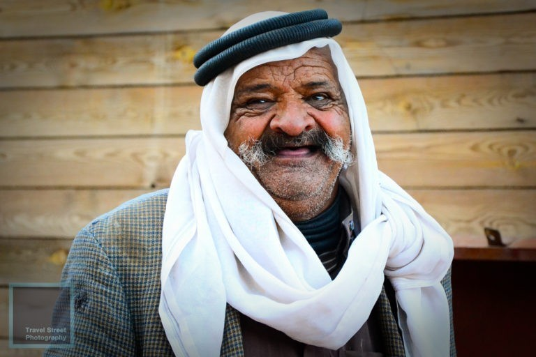 travel street photography jordanian merchant petra jordan people portrait