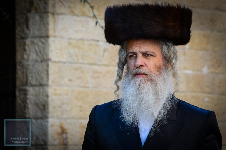 travel street photography hasidic jewish man jerusalem israel people portrait