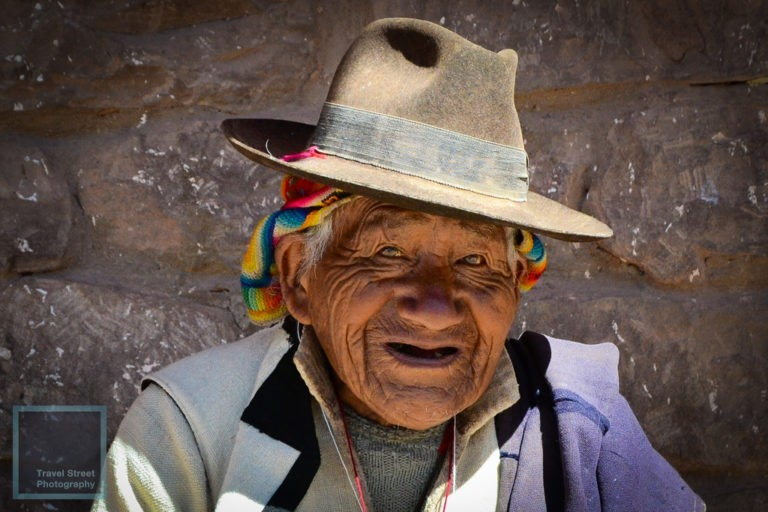 travel street photography old peruvian man taquile peru people portrait