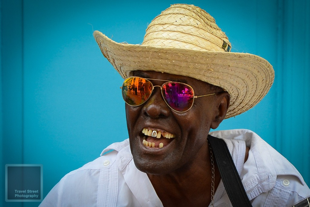 travel street photography cuban singer with silver tooth havana cuba people portrait